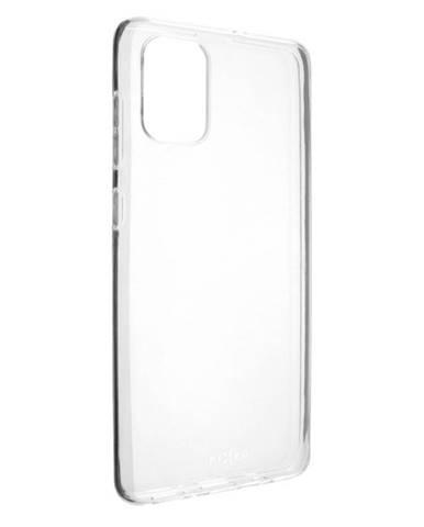 Kryt na mobil Fixed Skin na Samsung Galaxy A71 priehľadný