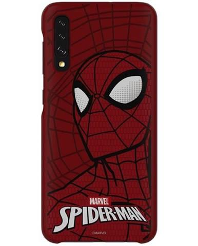 Kryt na mobil Samsung Smart Cover Spider-Man na Galaxy A50 červený