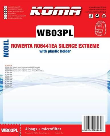 Sáčky pre vysávače Koma Wb03pl