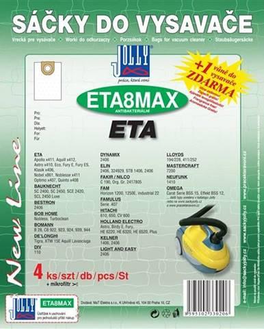 Sáčky pre vysávače Jolly MAX ETA 8