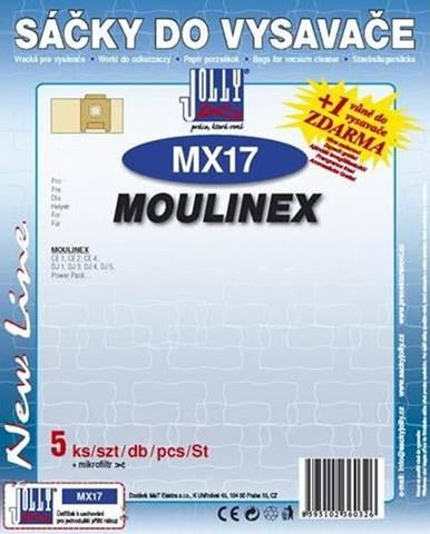 Sáčky pre vysávače Jolly MX 17