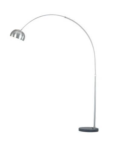 Oblúková lampa oceľ/čierny mramor CINDA TYP 16 F1034-M