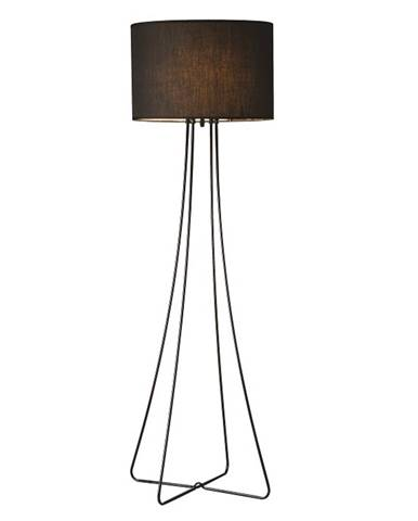 Stojacia lampa čierny kov/látka CINDA TYP 12 F4813