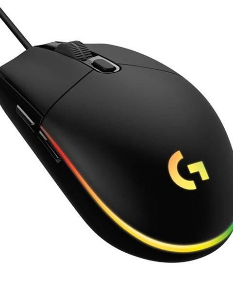 Logitech Myš  Logitech Gaming G102 Lightsync čierna