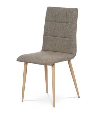 Jedálenská stolička IDA sivá/buk