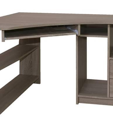 Rohový PC stôl JANA ľavá
