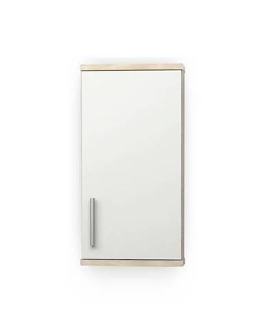 Závesná skrinka LINDA LI04 dub sonoma/biela pololesk