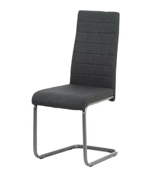 Sconto Jedálenská stolička ELISA antracitová