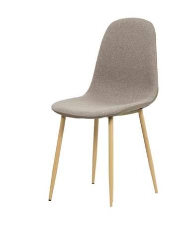 Jedálenská stolička ADRIANNE hnedá