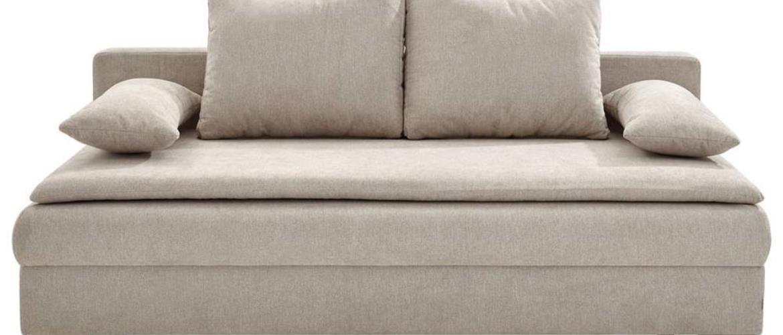 Venda ROZKLADACIA POHOVKA, textil, béžová - béžová